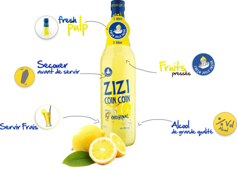 Zizi Coin Coin ORIGINAL-LEMON