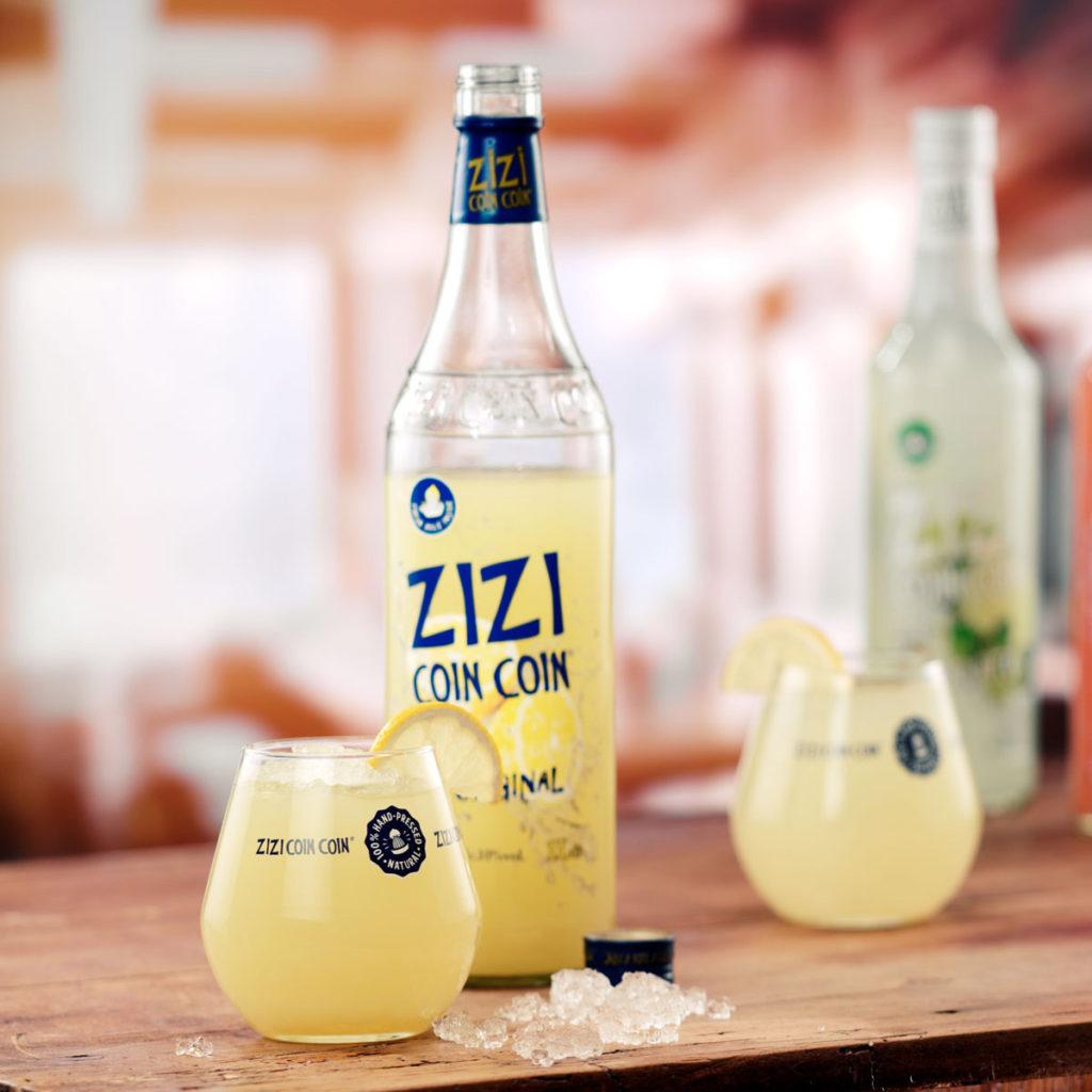 Doosje ritszi hoekhoek origineel aperitief met geperste citroendoosjes set
